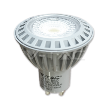 LED spuldze  - LED Spotlight - 6W GU10 СОВ Plastic Warm White